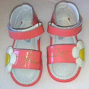 UMBI FLORAL PINK GIRL'S SANDALS SIZE